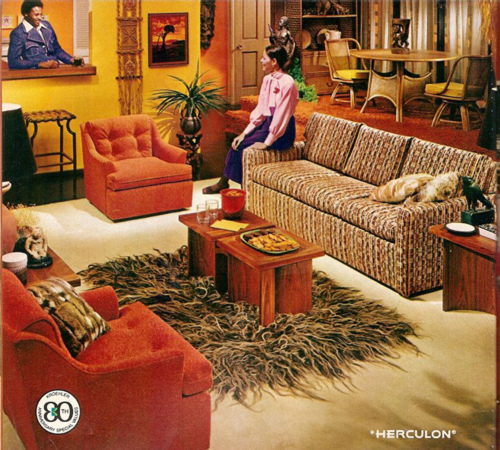 Memories monday in which i express strong feelings about for 70s living room furniture